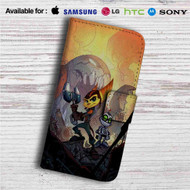 Ratchet and Clank Custom Leather Wallet iPhone 4/4S 5S/C 6/6S Plus 7| Samsung Galaxy S4 S5 S6 S7 Note 3 4 5| LG G2 G3 G4| Motorola Moto X X2 Nexus 6| Sony Z3 Z4 Mini| HTC ONE X M7 M8 M9 Case