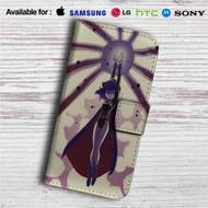Teen Titan's Raven Custom Leather Wallet iPhone 4/4S 5S/C 6/6S Plus 7| Samsung Galaxy S4 S5 S6 S7 Note 3 4 5| LG G2 G3 G4| Motorola Moto X X2 Nexus 6| Sony Z3 Z4 Mini| HTC ONE X M7 M8 M9 Case