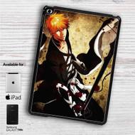 """Kurosaki Ichigo Bleach iPad 2 3 4 iPad Mini 1 2 3 4 iPad Air 1 2   Samsung Galaxy Tab 10.1"""" Tab 2 7"""" Tab 3 7"""" Tab 3 8"""" Tab 4 7"""" Case"""