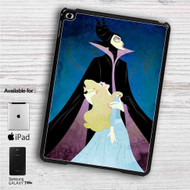 "Maleficent and Princess Aurora Disney iPad 2 3 4 iPad Mini 1 2 3 4 iPad Air 1 2 | Samsung Galaxy Tab 10.1"" Tab 2 7"" Tab 3 7"" Tab 3 8"" Tab 4 7"" Case"