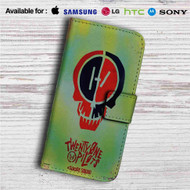 Twenty One Pilot Suicide Squad Custom Leather Wallet iPhone 4/4S 5S/C 6/6S Plus 7| Samsung Galaxy S4 S5 S6 S7 Note 3 4 5| LG G2 G3 G4| Motorola Moto X X2 Nexus 6| Sony Z3 Z4 Mini| HTC ONE X M7 M8 M9 Case