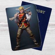 Ben Finn The Fable Custom Leather Passport Wallet Case Cover