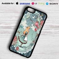 Alice in Wonderland Disney iPhone 4/4S 5 S/C/SE 6/6S Plus 7  Samsung Galaxy S4 S5 S6 S7 NOTE 3 4 5  LG G2 G3 G4  MOTOROLA MOTO X X2 NEXUS 6  SONY Z3 Z4 MINI  HTC ONE X M7 M8 M9 M8 MINI CASE