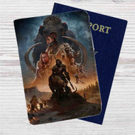 Far Cry Primal Custom Leather Passport Wallet Case Cover