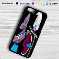Beerus and Whis Dragon Ball Super iPhone 4/4S 5 S/C/SE 6/6S Plus 7  Samsung Galaxy S4 S5 S6 S7 NOTE 3 4 5  LG G2 G3 G4  MOTOROLA MOTO X X2 NEXUS 6  SONY Z3 Z4 MINI  HTC ONE X M7 M8 M9 M8 MINI CASE
