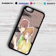 Chihayafuru Chihaya and Taichi iPhone 4/4S 5 S/C/SE 6/6S Plus 7  Samsung Galaxy S4 S5 S6 S7 NOTE 3 4 5  LG G2 G3 G4  MOTOROLA MOTO X X2 NEXUS 6  SONY Z3 Z4 MINI  HTC ONE X M7 M8 M9 M8 MINI CASE