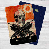 Gears Of War 3 Custom Leather Passport Wallet Case Cover