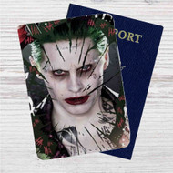Joker Suicide Squad Custom Leather Passport Wallet Case Cover