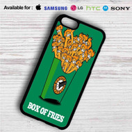 Futurama Fry Box of Fries iPhone 4/4S 5 S/C/SE 6/6S Plus 7  Samsung Galaxy S4 S5 S6 S7 NOTE 3 4 5  LG G2 G3 G4  MOTOROLA MOTO X X2 NEXUS 6  SONY Z3 Z4 MINI  HTC ONE X M7 M8 M9 M8 MINI CASE