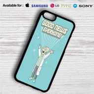 Futurama Good News Everyone iPhone 4/4S 5 S/C/SE 6/6S Plus 7| Samsung Galaxy S4 S5 S6 S7 NOTE 3 4 5| LG G2 G3 G4| MOTOROLA MOTO X X2 NEXUS 6| SONY Z3 Z4 MINI| HTC ONE X M7 M8 M9 M8 MINI CASE