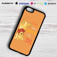 Pooh There's Sunshine in My Soul Disney iPhone 4/4S 5 S/C/SE 6/6S Plus 7  Samsung Galaxy S4 S5 S6 S7 NOTE 3 4 5  LG G2 G3 G4  MOTOROLA MOTO X X2 NEXUS 6  SONY Z3 Z4 MINI  HTC ONE X M7 M8 M9 M8 MINI CASE