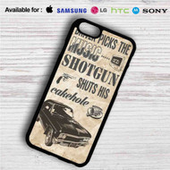 Supernatural Impala iPhone 4/4S 5 S/C/SE 6/6S Plus 7  Samsung Galaxy S4 S5 S6 S7 NOTE 3 4 5  LG G2 G3 G4  MOTOROLA MOTO X X2 NEXUS 6  SONY Z3 Z4 MINI  HTC ONE X M7 M8 M9 M8 MINI CASE