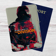 Tom Clancys The Division Custom Leather Passport Wallet Case Cover