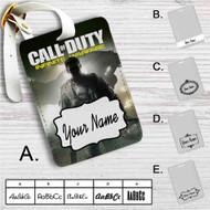 Call of Duty Infinite Warfare Custom Leather Luggage Tag