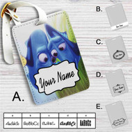 Finding Dory and Baby Dory Family Disney Custom Leather Luggage Tag