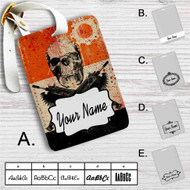 Gears Of War 3 Custom Leather Luggage Tag