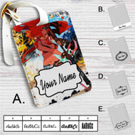 Gunner Yoko Gurren Lagann Custom Leather Luggage Tag