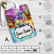 Mighty No 9 Custom Leather Luggage Tag
