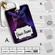 Overwatch Reaper Custom Leather Luggage Tag