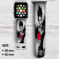 Death Note With Apple Custom Apple Watch Band Leather Strap Wrist Band Replacement 38mm 42mm