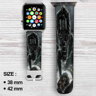 Dishonored Custom Apple Watch Band Leather Strap Wrist Band Replacement 38mm 42mm