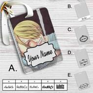 Sanji One Piece Custom Leather Luggage Tag