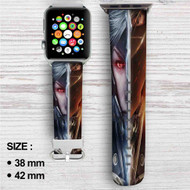 Metal Gear Rising Revengeance Custom Apple Watch Band Leather Strap Wrist Band Replacement 38mm 42mm
