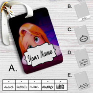 Tangled Rapunzel Child Custom Leather Luggage Tag