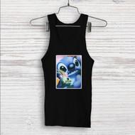 Disney Stitch Face Custom Men Woman Tank Top T Shirt Shirt