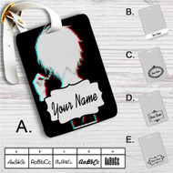 Tokyo Ghoul What's 100 Minus 7 Custom Leather Luggage Tag