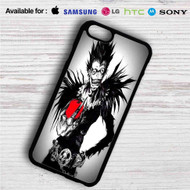 Death Note With Apple iPhone 4/4S 5 S/C/SE 6/6S Plus 7| Samsung Galaxy S4 S5 S6 S7 NOTE 3 4 5| LG G2 G3 G4| MOTOROLA MOTO X X2 NEXUS 6| SONY Z3 Z4 MINI| HTC ONE X M7 M8 M9 M8 MINI CASE