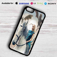 Game of Thrones Daenerys iPhone 4/4S 5 S/C/SE 6/6S Plus 7| Samsung Galaxy S4 S5 S6 S7 NOTE 3 4 5| LG G2 G3 G4| MOTOROLA MOTO X X2 NEXUS 6| SONY Z3 Z4 MINI| HTC ONE X M7 M8 M9 M8 MINI CASE
