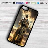 Gears Of War 4 iPhone 4/4S 5 S/C/SE 6/6S Plus 7  Samsung Galaxy S4 S5 S6 S7 NOTE 3 4 5  LG G2 G3 G4  MOTOROLA MOTO X X2 NEXUS 6  SONY Z3 Z4 MINI  HTC ONE X M7 M8 M9 M8 MINI CASE