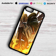 Levi Shingeki no Kyojin iPhone 4/4S 5 S/C/SE 6/6S Plus 7| Samsung Galaxy S4 S5 S6 S7 NOTE 3 4 5| LG G2 G3 G4| MOTOROLA MOTO X X2 NEXUS 6| SONY Z3 Z4 MINI| HTC ONE X M7 M8 M9 M8 MINI CASE