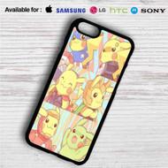 Pikachu as Avengers Characters iPhone 4/4S 5 S/C/SE 6/6S Plus 7  Samsung Galaxy S4 S5 S6 S7 NOTE 3 4 5  LG G2 G3 G4  MOTOROLA MOTO X X2 NEXUS 6  SONY Z3 Z4 MINI  HTC ONE X M7 M8 M9 M8 MINI CASE