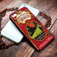 How to Train Your Dragon book on your case iphone 4 4s 5 5s 5c 6 6plus 7 case / cases