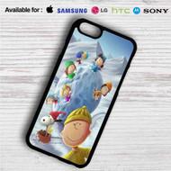 Snoopy The Peanuts Gang With Snowball iPhone 4/4S 5 S/C/SE 6/6S Plus 7  Samsung Galaxy S4 S5 S6 S7 NOTE 3 4 5  LG G2 G3 G4  MOTOROLA MOTO X X2 NEXUS 6  SONY Z3 Z4 MINI  HTC ONE X M7 M8 M9 M8 MINI CASE