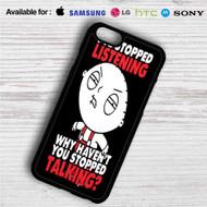 Stewie Family Guy iPhone 4/4S 5 S/C/SE 6/6S Plus 7  Samsung Galaxy S4 S5 S6 S7 NOTE 3 4 5  LG G2 G3 G4  MOTOROLA MOTO X X2 NEXUS 6  SONY Z3 Z4 MINI  HTC ONE X M7 M8 M9 M8 MINI CASE