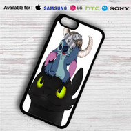 Stitch and Toothless iPhone 4/4S 5 S/C/SE 6/6S Plus 7| Samsung Galaxy S4 S5 S6 S7 NOTE 3 4 5| LG G2 G3 G4| MOTOROLA MOTO X X2 NEXUS 6| SONY Z3 Z4 MINI| HTC ONE X M7 M8 M9 M8 MINI CASE