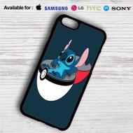 Stitch in Pokedex Ball iPhone 4/4S 5 S/C/SE 6/6S Plus 7  Samsung Galaxy S4 S5 S6 S7 NOTE 3 4 5  LG G2 G3 G4  MOTOROLA MOTO X X2 NEXUS 6  SONY Z3 Z4 MINI  HTC ONE X M7 M8 M9 M8 MINI CASE