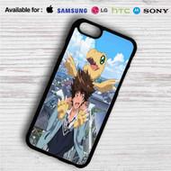 Taichi Yagami and Agumon Digimon iPhone 4/4S 5 S/C/SE 6/6S Plus 7| Samsung Galaxy S4 S5 S6 S7 NOTE 3 4 5| LG G2 G3 G4| MOTOROLA MOTO X X2 NEXUS 6| SONY Z3 Z4 MINI| HTC ONE X M7 M8 M9 M8 MINI CASE
