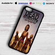The Walking Dead Michonne iPhone 4/4S 5 S/C/SE 6/6S Plus 7  Samsung Galaxy S4 S5 S6 S7 NOTE 3 4 5  LG G2 G3 G4  MOTOROLA MOTO X X2 NEXUS 6  SONY Z3 Z4 MINI  HTC ONE X M7 M8 M9 M8 MINI CASE