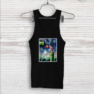 Super Mario Starry Night Custom Men Woman Tank Top T Shirt Shirt