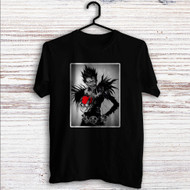 Death Note With Apple Custom T Shirt Tank Top Men and Woman