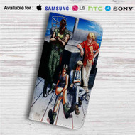 Black Lagoon Pirates Custom Leather Wallet iPhone 4/4S 5S/C 6/6S Plus 7| Samsung Galaxy S4 S5 S6 S7 Note 3 4 5| LG G2 G3 G4| Motorola Moto X X2 Nexus 6| Sony Z3 Z4 Mini| HTC ONE X M7 M8 M9 Case