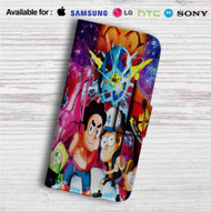 Gravity Falls and Steven Universe Custom Leather Wallet iPhone 4/4S 5S/C 6/6S Plus 7| Samsung Galaxy S4 S5 S6 S7 Note 3 4 5| LG G2 G3 G4| Motorola Moto X X2 Nexus 6| Sony Z3 Z4 Mini| HTC ONE X M7 M8 M9 Case