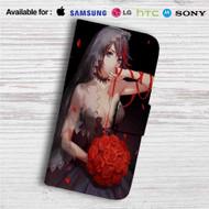 Sexy Ryuuko Matoi Kill La Kill Custom Leather Wallet iPhone 4/4S 5S/C 6/6S Plus 7| Samsung Galaxy S4 S5 S6 S7 Note 3 4 5| LG G2 G3 G4| Motorola Moto X X2 Nexus 6| Sony Z3 Z4 Mini| HTC ONE X M7 M8 M9 Case