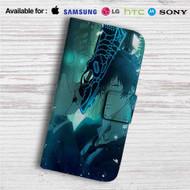 Shinya Kogami Psycho Pass Custom Leather Wallet iPhone 4/4S 5S/C 6/6S Plus 7| Samsung Galaxy S4 S5 S6 S7 Note 3 4 5| LG G2 G3 G4| Motorola Moto X X2 Nexus 6| Sony Z3 Z4 Mini| HTC ONE X M7 M8 M9 Case