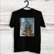 Snoopy The Peanuts Gang With Snowball Custom T Shirt Tank Top Men and Woman