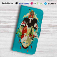 Studio Ghibli Characters Custom Leather Wallet iPhone 4/4S 5S/C 6/6S Plus 7| Samsung Galaxy S4 S5 S6 S7 Note 3 4 5| LG G2 G3 G4| Motorola Moto X X2 Nexus 6| Sony Z3 Z4 Mini| HTC ONE X M7 M8 M9 Case